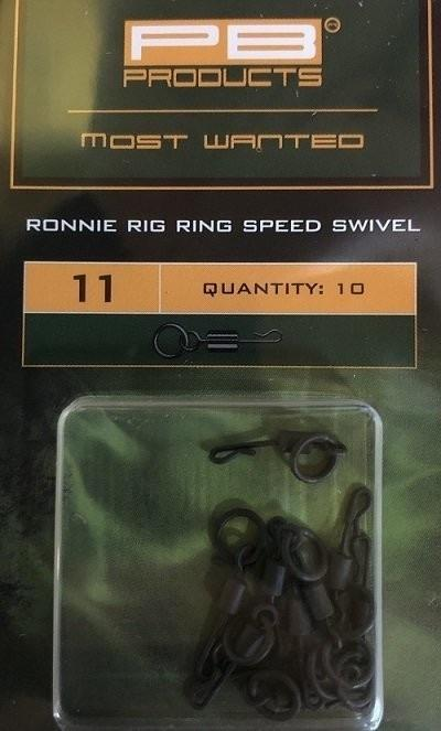 PB Products Ronnie Rig Ring Speed Swivel