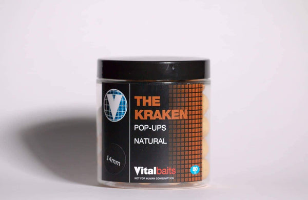 Vital Baits The Kraken Pop Ups Natural
