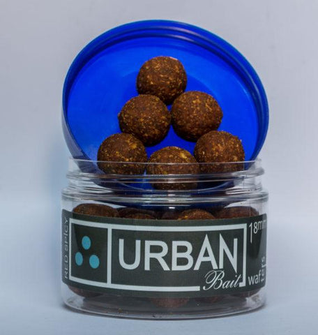 Urban Bait Red Spicy Fish Wafters - 14mm