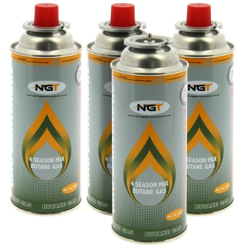 Pack of 4 Butane Gas Canisters (Sold in 4's)