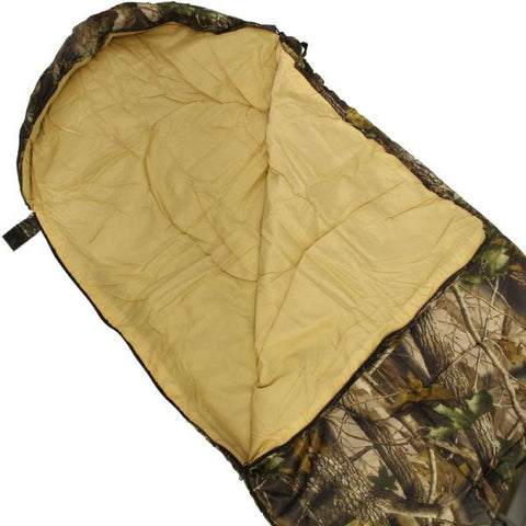 Image of Camo Carp Fishing Sleeping Bag With Case