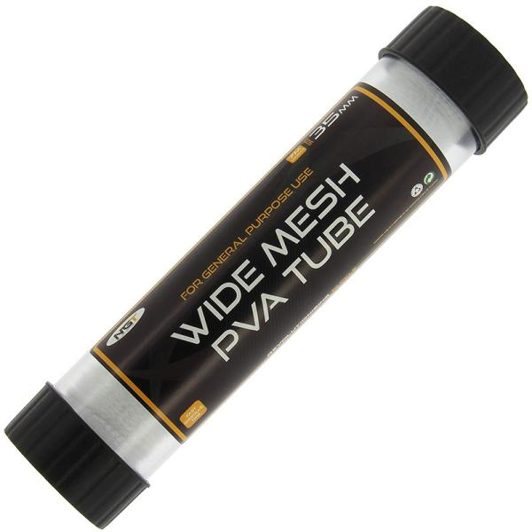 PVA Mesh Wide Tube - With Free Plunger