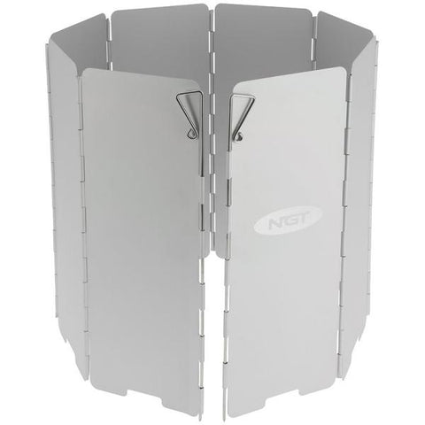 Image of 8 Panel Aluminium Cooking Wind Shield