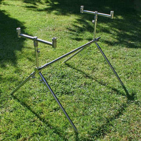 Image of 2pc Stainless Steel - Emergency Rod Pod {(Turns Bank Sticks Into a Pod)