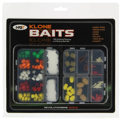 Image of Klone Baits - 155pc Artificial Bait Set (SHIPS AUGUST)