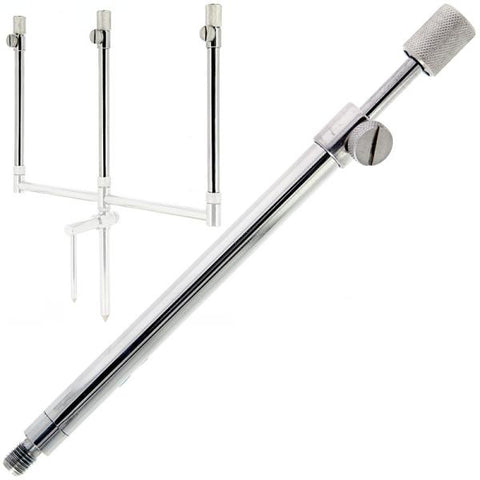 NGT Singles Stainless Rod Support System with Adaptable Bank Sticks & Stabiliser