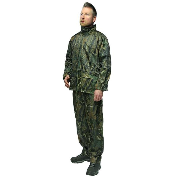 2pc Camo Quick On Waterproof Suits