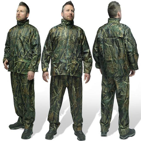 Image of 2pc Camo Quick On Waterproof Suits