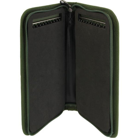 Image of NGT NEW Stiff Rig Wallet With Pins in Camo for Carp Fishing #carpglobal