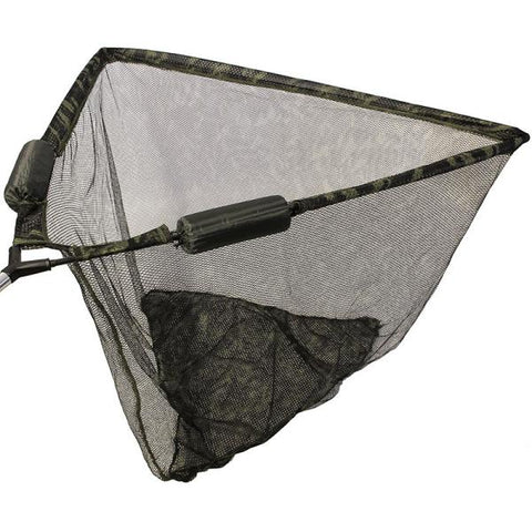 "Image of 42"" Camo Deluxe Specimen Net with Dual Net Float System (Metal block)"