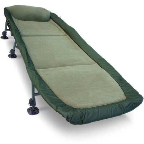 NGT Classic Bedchair with Recliner - Micro Fleece Fabric