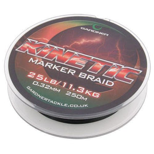 GARDNER KINETIC MARKER BRAID 25lb (11.3kg)