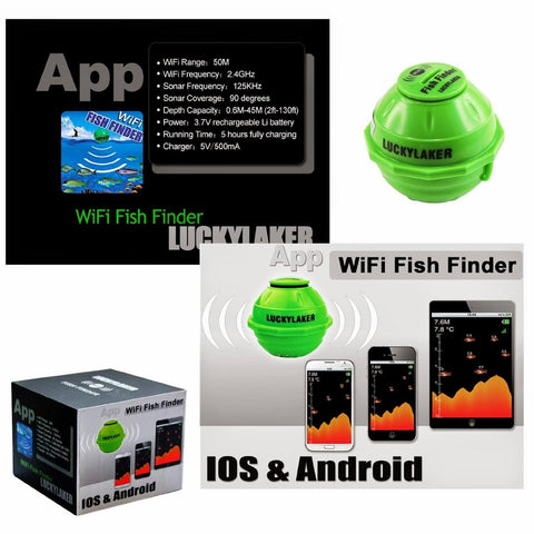 Image of LuckyLaker Wi-Fi Fish Finder - BEST DEAL