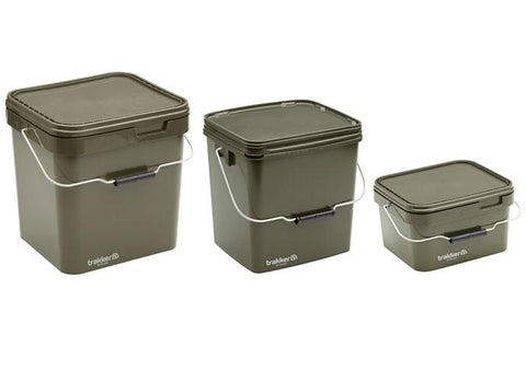 Image of Trakker Olive Square Container/Bucket