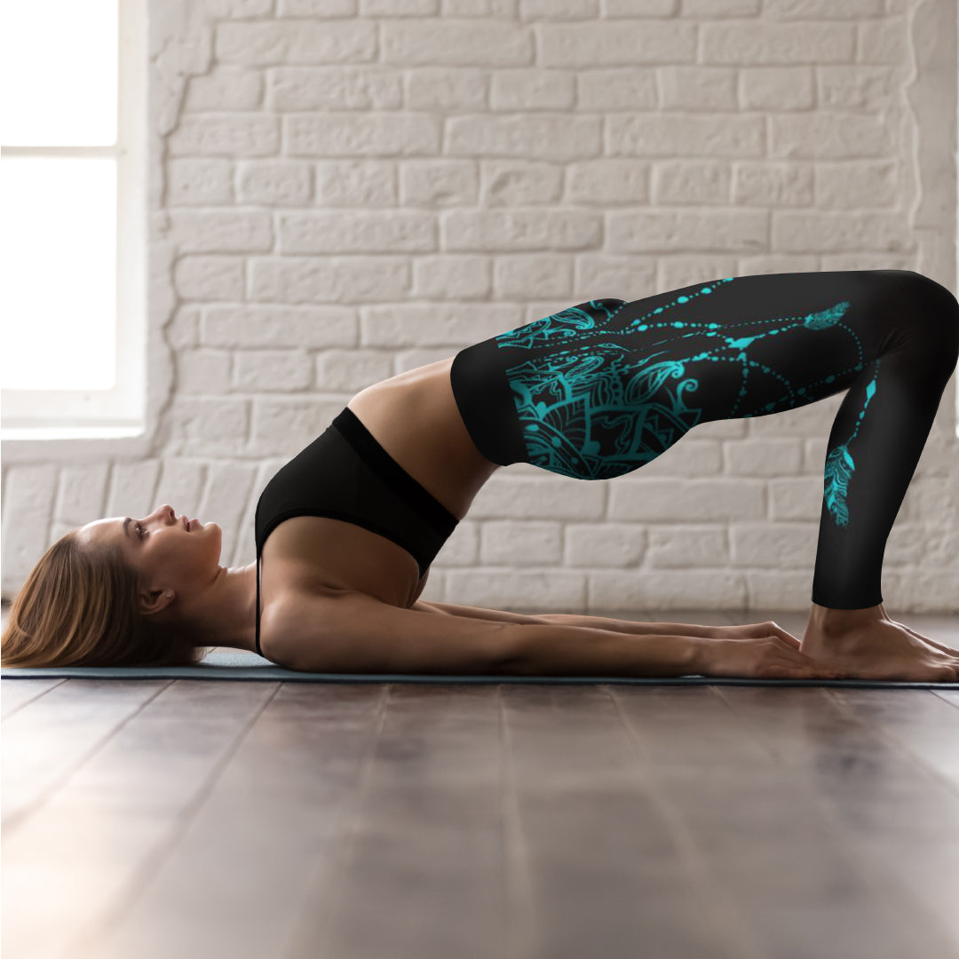 Alice Yoga Capri Leggings - Mila J & Co.