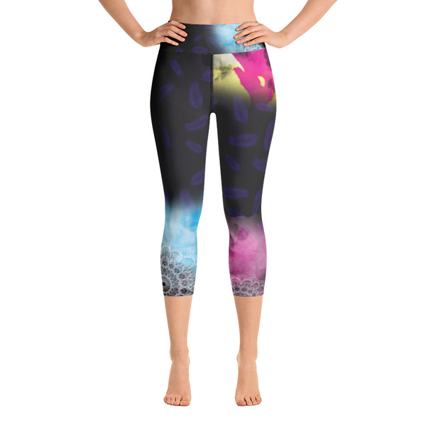 Miggie Yoga Capri Leggings