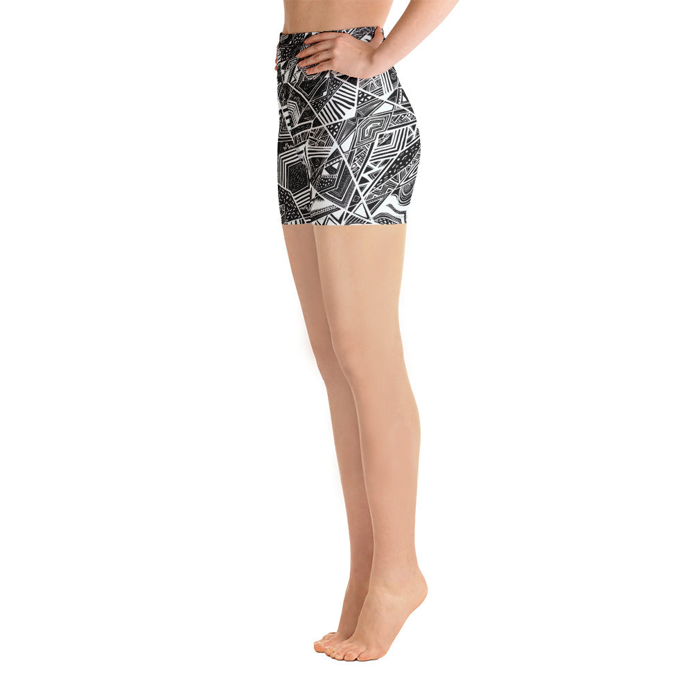 Nohlie Yoga Shorts - Mila J & Co.
