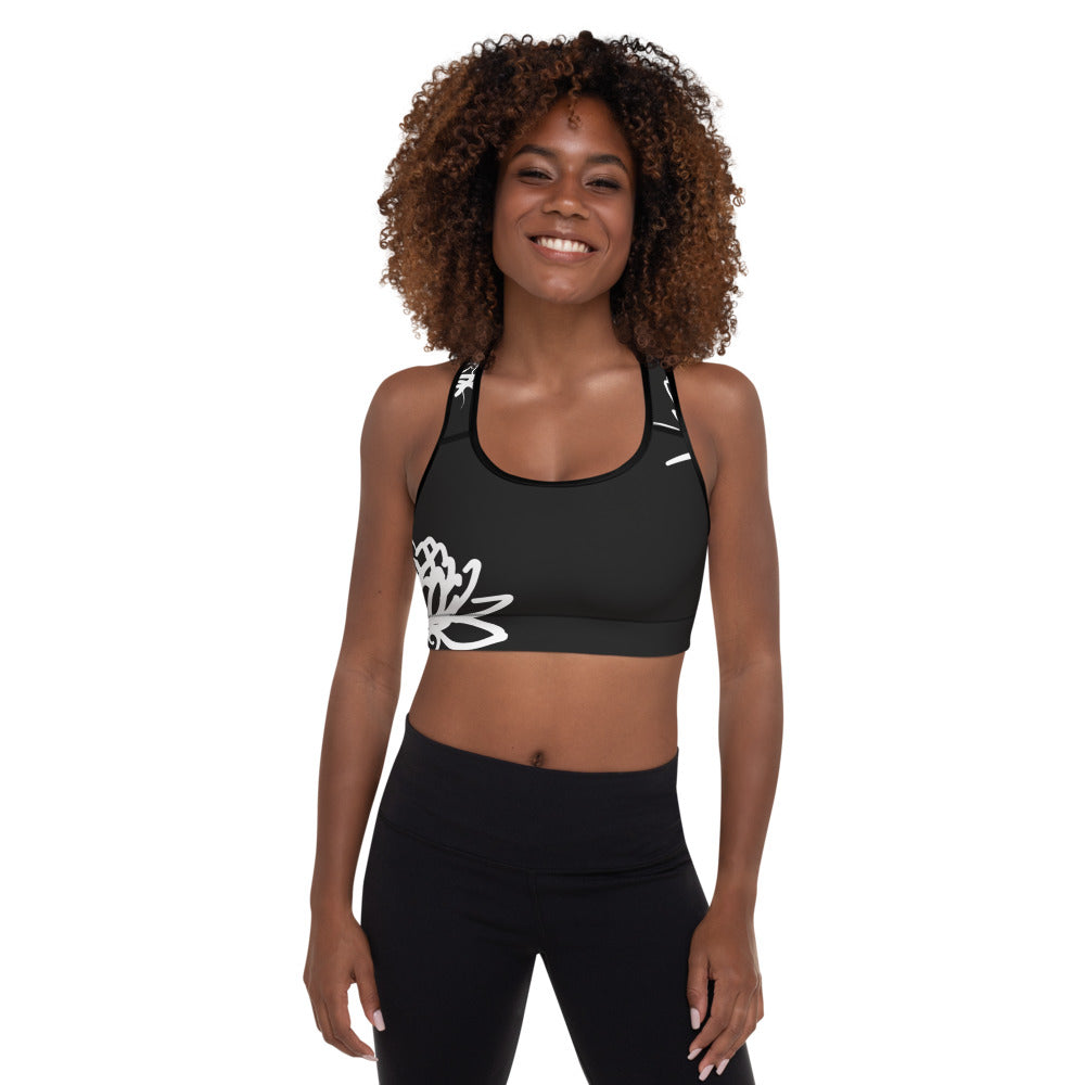 Alexandra Padded Sports Bra - Mila J & Co.