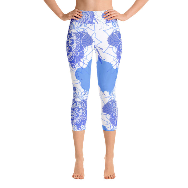 Andrea Yoga Capri Leggings - Mila J & Co.