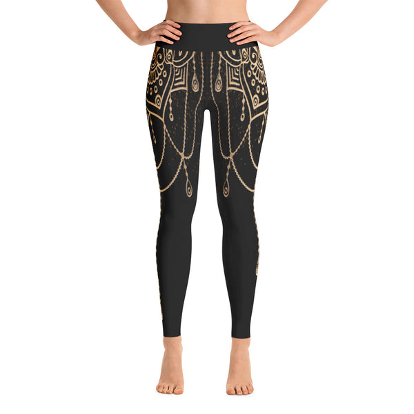 Anetta Yoga Leggings - Mila J & Co.