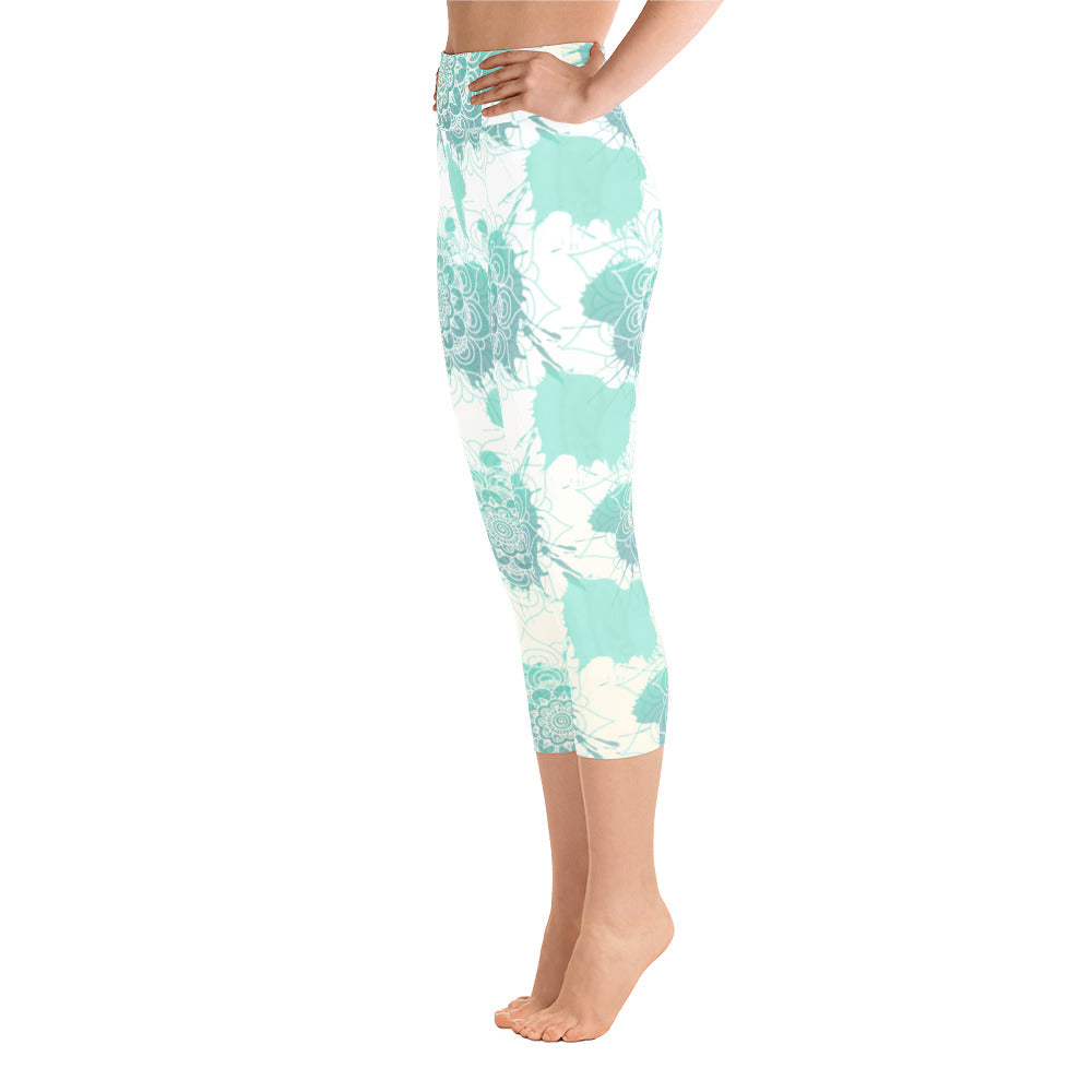 Antonia Yoga Capri Leggings - Mila J & Co.
