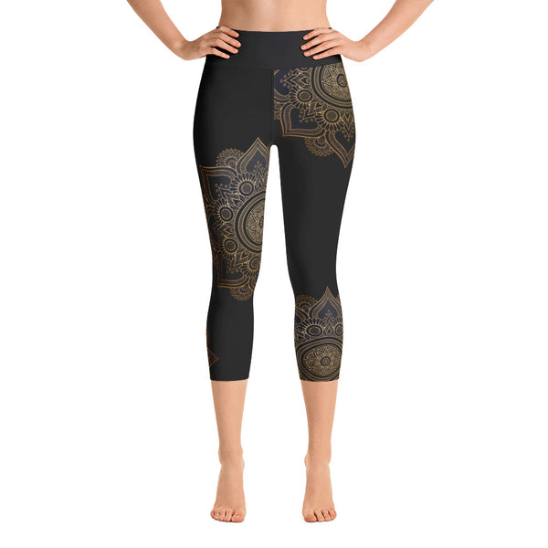Alie Yoga Capri Leggings