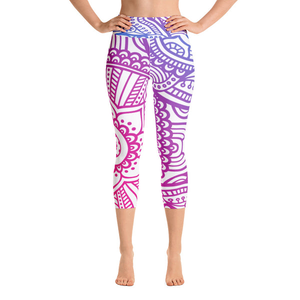 Sophia Yoga Capri Leggings - Mila J & Co.