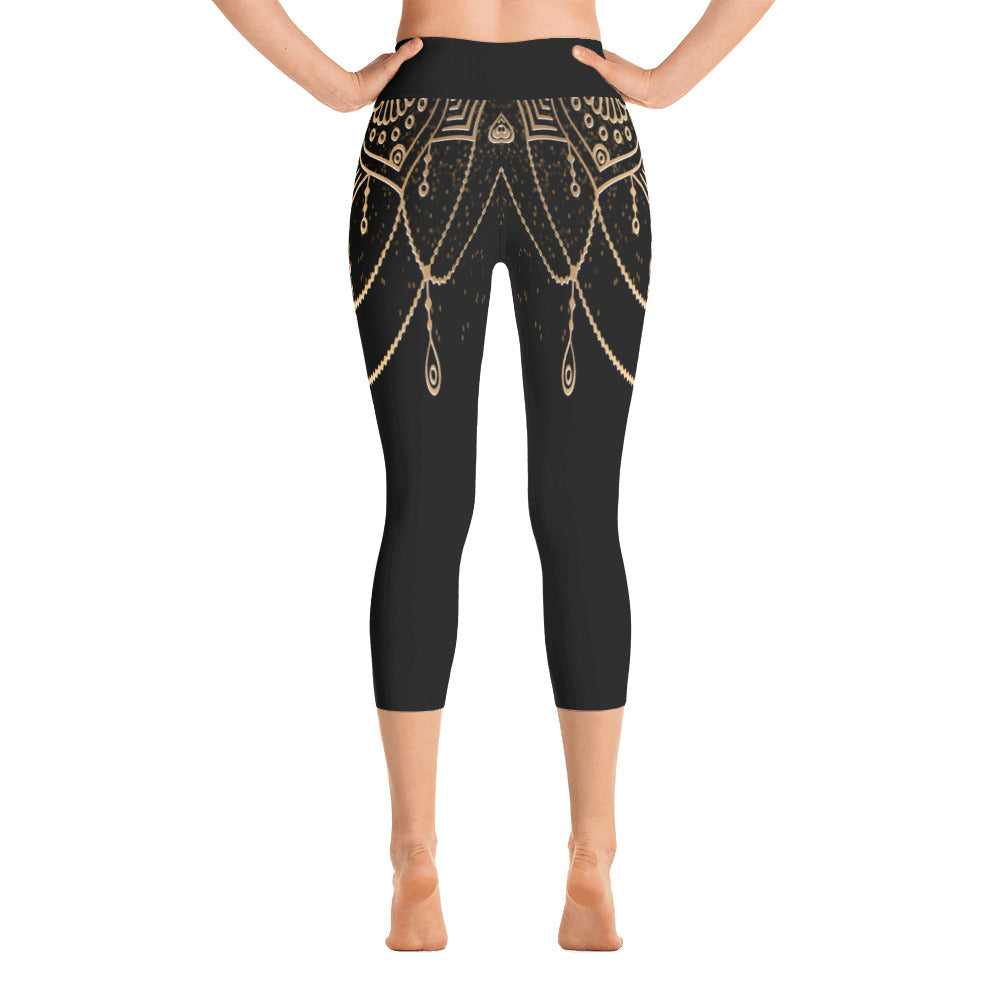Anetta Yoga Capri Leggings - Mila J & Co.