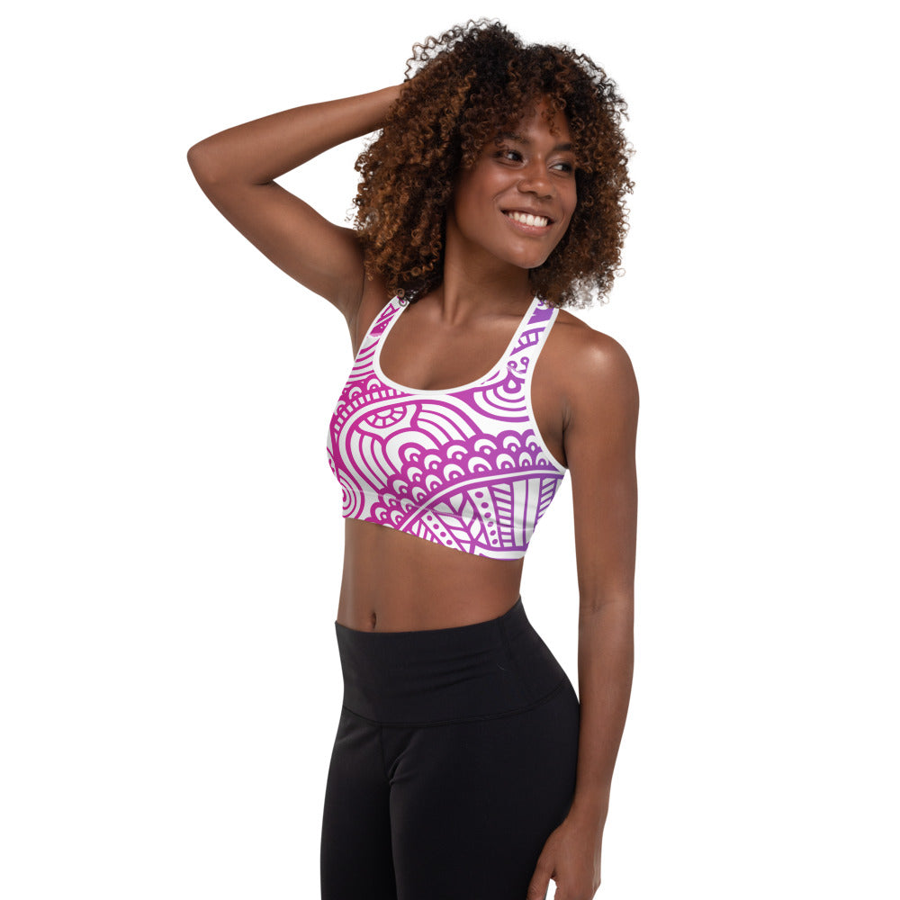 Sophia Padded Sports Bra - Mila J & Co.