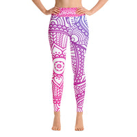 Sophia Yoga Leggings - Mila J & Co.