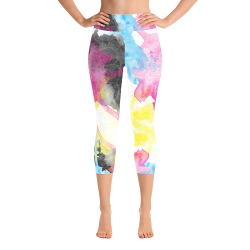 Issy Yoga Capri Leggings - Mila J & Co.