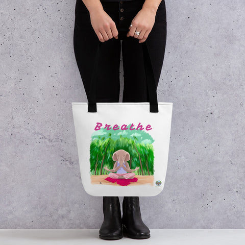 Tote bag BREATHE