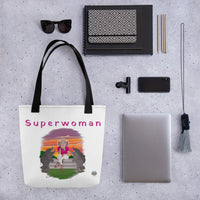Tote bag SUPERWOMAN