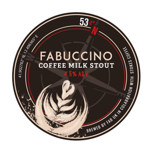 Fabuccino Coffee Milk Stout - Ferry Ales Brewery
