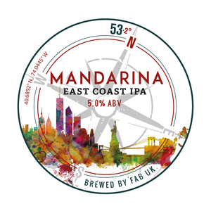 Mandarina East Coast IPA - Ferry Ales Brewery