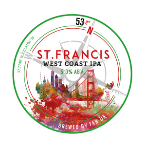 St Francis West Coast IPA - Ferry Ales Brewery