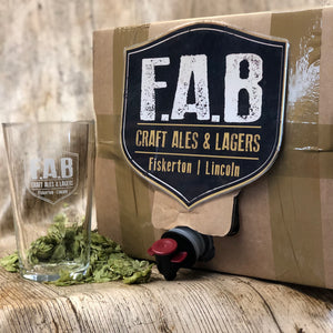 Beer-in-a-box - real ale in your home! Pick it up or have it delivered - Ferry Ales Brewery