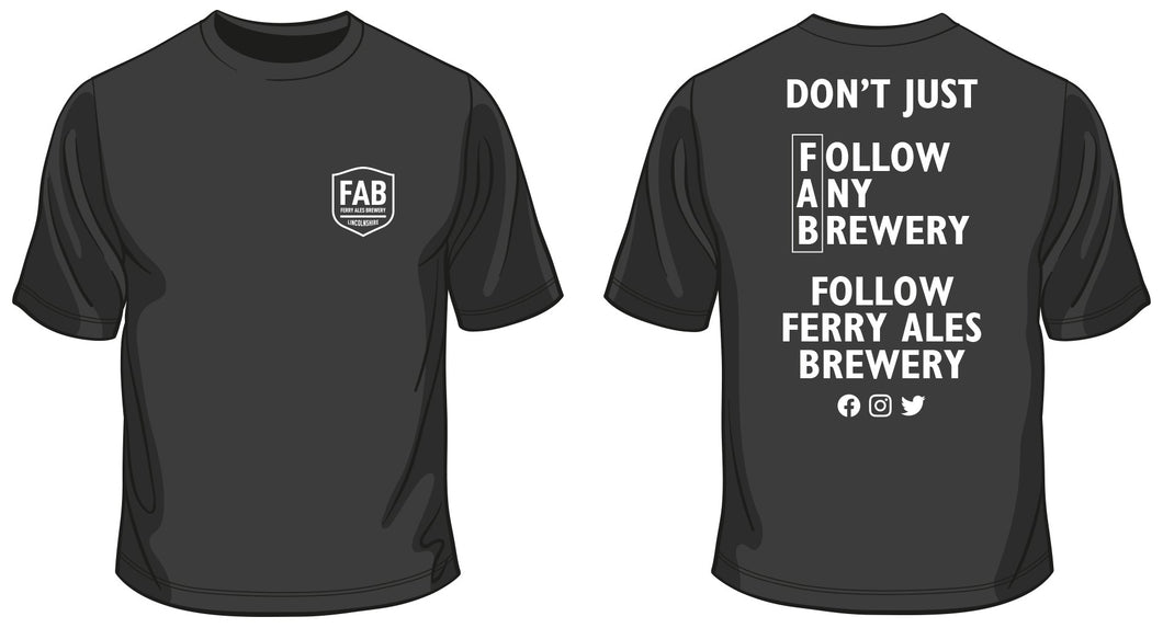 FAB - follow us T Shirt