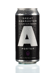 "Great Character ""A"" Porter  case of 12 x 440ml Cans"