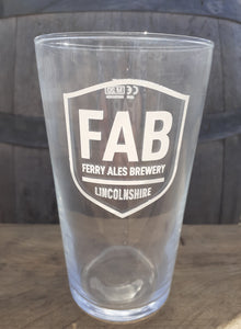 FAB Pint Glass