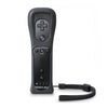 Black New 2 in 1 Built in Motion Plus Remote Controller with Silicone Case and Hand Strap For Nintendo For Wii For Wii remote