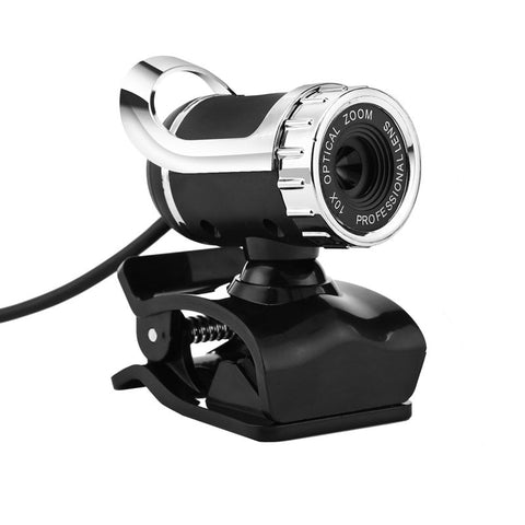 High Quality 360 Degrees USB 12M HD Camera Web Cam Clip-on Digital Video Webcamera with Microphone MIC for Computer PC Laptop