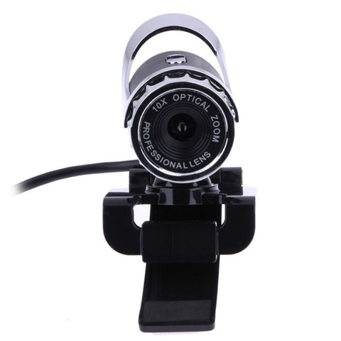Newest Webcam USB 12 Megapixel High Definition Camera Web Cam 360 Degree MIC Clip-on For Skype Computer