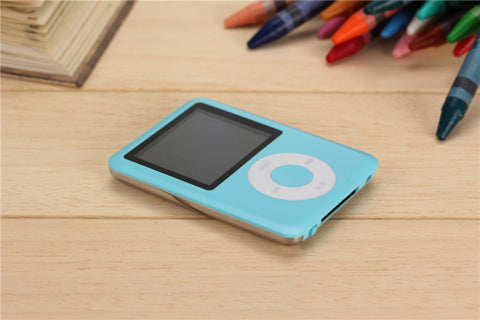 1.8 inch LCD Screen MP3 MP4 Music Player Metal Housing 4BG 8GB 16GB 32GB MP4 Player Support E-Book Reading FM Radio