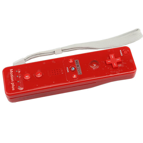 High Quality 2 in 1 Controller for Wii mote Built in Motion Plus Inside Remote Controller Nunchuck For Wii For Nintendo