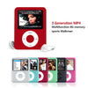 New fashion 32GB MP4 player MP4 2.0 inch screen support FM e-book movie image display color LCD free shipping