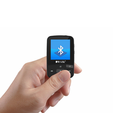 Mini Sport Clip Bluetooth mp3 player music player Support TF Card, FM Radio, Recording, E-book, Pedometer
