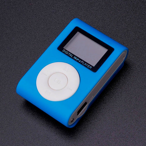 2018 MP3 Player USB Clip Mini LCD Screen Support 32GB Micro SD TF Card