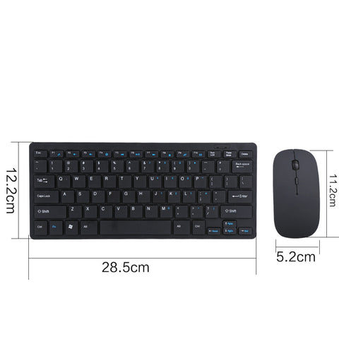 2.4G Wireless Keyboard And Mouse Kit Keypad Ultra-Slim For Android IOS PC Laptop Computer Accessories