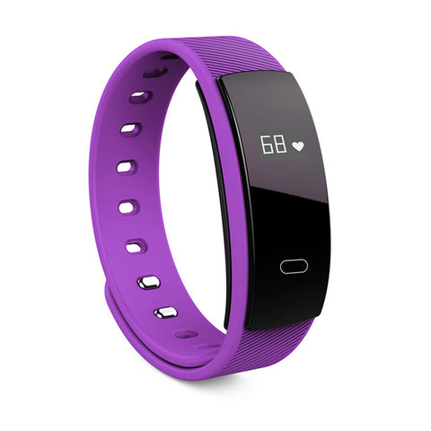 Smart Bracelet Fitness Band Heart Rate Pulse Blood Pressure Tracker Watch Pedometer